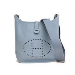 Hermes Evelyne III PM in Taurillion Clemence Blue - BRAND NEW