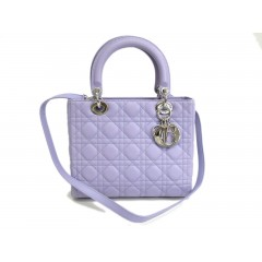 Dior Lady Dior Medium Bag Light Purple - Brand New