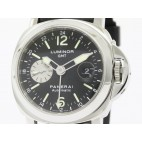 PANERAI Luminor GMT Steel Automatic Watch PAM 88