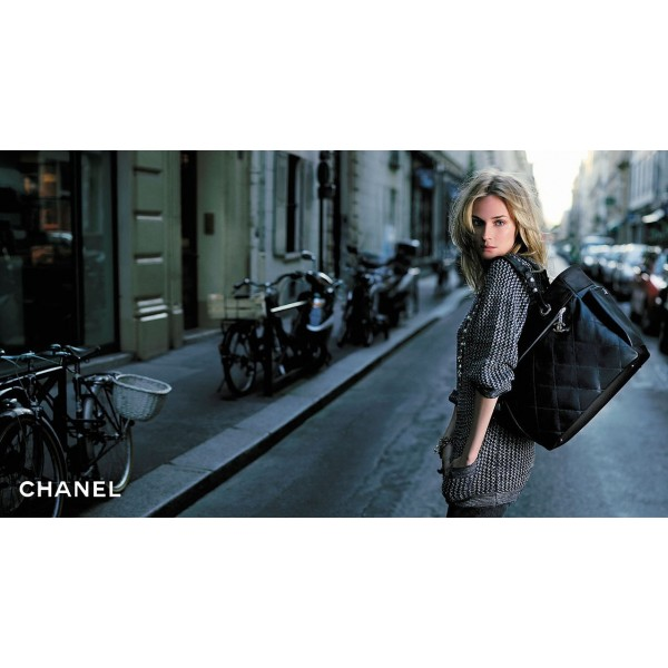02095f943983 Chanel Paris Biarritz Leather & Canvas Tote GM