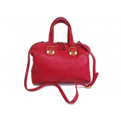 Fendi Cameleon Leather Red