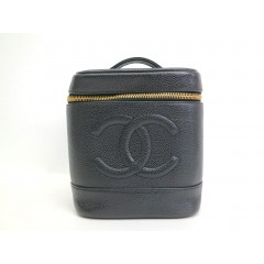 Chanel Caviar Vanity Case
