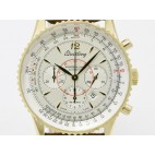 Breitling Navitimer Montbrillant 18K Solid Gold Mens Watch