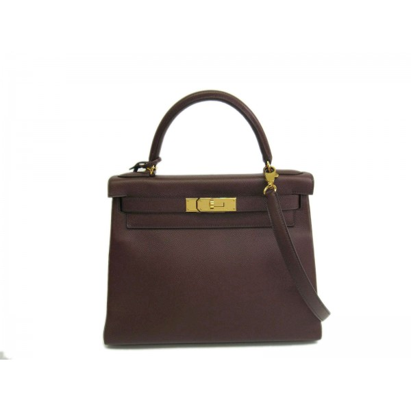 b7804f747d ... greece hermes kelly 28 inner seam in courchevel brown ac810 f7362